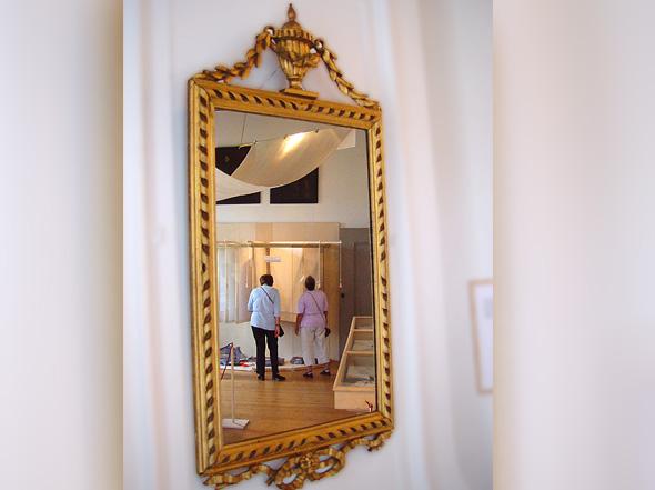 slot-zuylen-servet-carrousel-in-spiegel